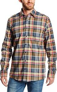 Brązowa koszula Casamoda