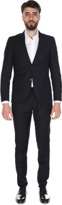 Czarny garnitur Sseinse