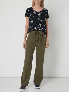 Bluzka Only w stylu casual z okrągłym dekoltem