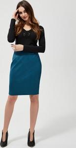 Niebieska spódnica Moodo