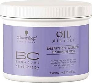 Schwarzkopf BC Oil Miracle Barbary Mask | Maska odbudowująca 500ml - Wysyłka w 24H!