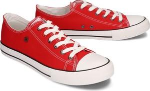 BIG STAR T174100 czerwony, półtrampki męskie
