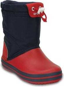 Buty dziecięce zimowe Crocs sznurowane