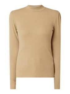 Bluzka Moves z bawełny z długim rękawem w stylu casual