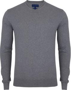 3e209f17 sweter męski z koszulą - stylowo i modnie z Allani
