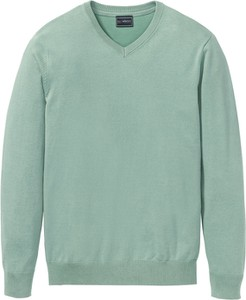 Turkusowy sweter bonprix bpc selection w stylu casual