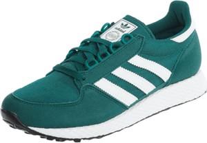 598019db Zielone buty sportowe Adidas Originals sznurowane