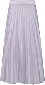 Spódnica Veva z jedwabiu w stylu casual