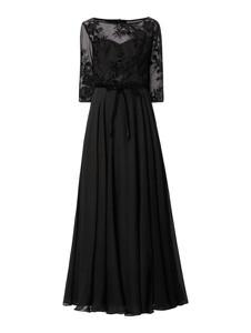 Czarna sukienka Paradi maxi