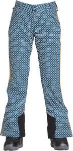 spodnie snowboardowe zielone stylowo i modnie z Allani