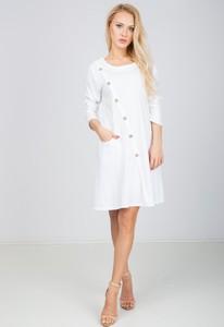 Sukienka Zoio z bawełny w stylu casual
