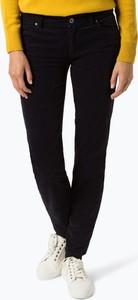 Czarne spodnie Marc O'Polo ze sztruksu