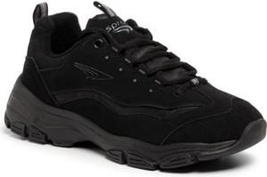 Sneakersy Sprandi z płaską podeszwą sznurowane