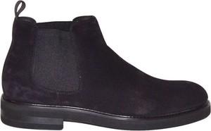 Czarne buty zimowe Jerold Wilton