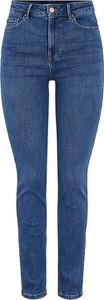 Jeansy Pieces z bawełny w stylu casual