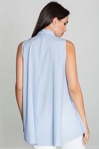 Niebieska bluzka Figl bez rękawów