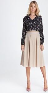 Różowa spódnica Colett midi