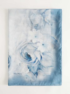 Niebieski szalik MaxMara