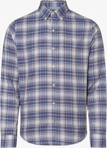 Niebieska koszula Izod z kołnierzykiem button down