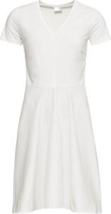Sukienka bonprix BODYFLIRT midi asymetryczna w stylu casual