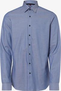 Niebieska koszula Finshley & Harding w stylu casual