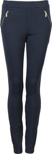 Niebieskie legginsy Tommy Hilfiger z tkaniny