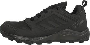 Czarne buty sportowe Adidas terrex sznurowane