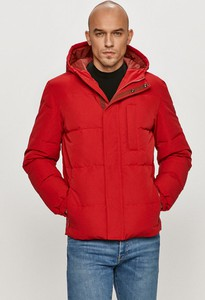 Czerwona kurtka Wrangler krótka z tkaniny