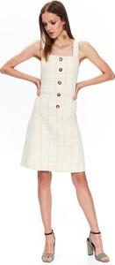 Sukienka Top Secret mini szmizjerka na ramiączkach