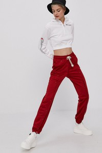 Czerwona bluza Champion z bawełny