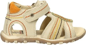 Buty dziecięce letnie Cangur na rzepy ze skóry