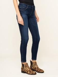 Granatowe jeansy Guess