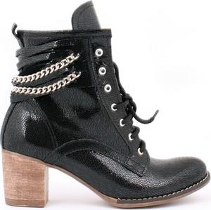 Botki Zapato na obcasie ze skóry