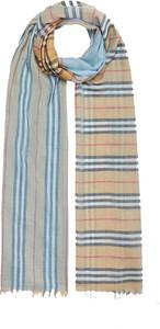 Niebieski szalik Burberry