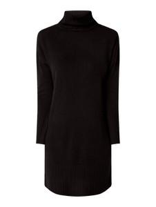 Czarna sukienka Only z długim rękawem mini w stylu casual