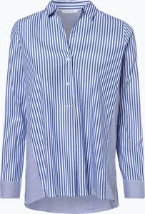 Niebieska bluzka Opus z kołnierzykiem