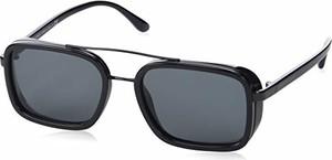 Emporio Armani Armani Okulary przeciwsłoneczne dla mężczyzn 0 ar6063 300187, 53, Black/Grey