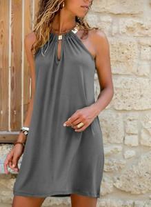 Sukienka Cikelly w stylu casual bez rękawów