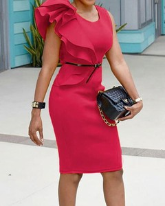 Sukienka Kendallme z okrągłym dekoltem mini z krótkim rękawem