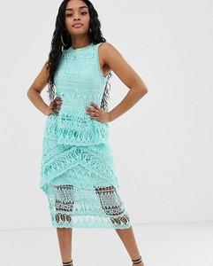 Niebieska sukienka Missguided Petite