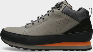 Buty sportowe 4F sznurowane w sportowym stylu z nubuku