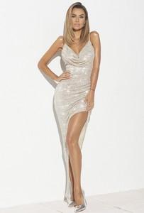 Sukienka Lou Women`s Fashion dopasowana maxi