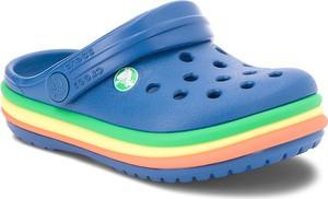 Niebieskie buty dziecięce letnie crocs