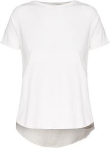 T-shirt Deha z krótkim rękawem z tkaniny
