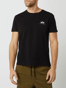 T-shirt Alpha Industries z nadrukiem w stylu casual