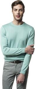 Sweter Recman w stylu casual z okrągłym dekoltem