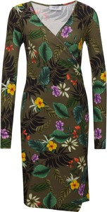 Sukienka Liu-Jo prosta w stylu boho z tkaniny