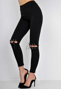 Czarne legginsy Zoio