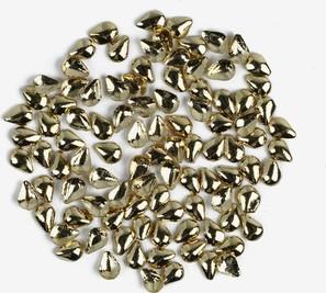 766 Ozdoba do manicure Semilac złota łezka mała, 100 sztuk