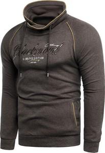 Brązowa bluza Risardi w młodzieżowym stylu